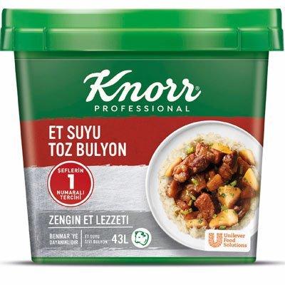 Knorr Et Suyu Toz Bulyon 750 g -