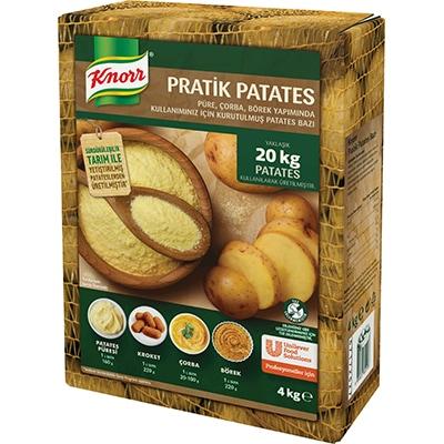 Knorr Pratik Patates 4 Kg