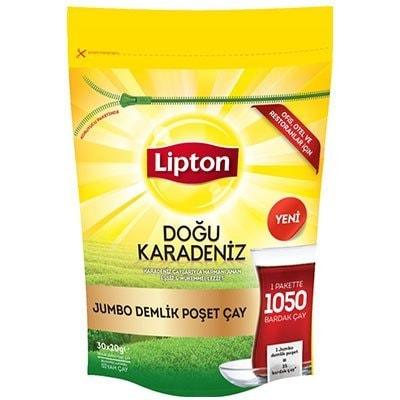 Lipton Doğu Karadeniz Jumbo Demlik Poşet Çay 30'lu -