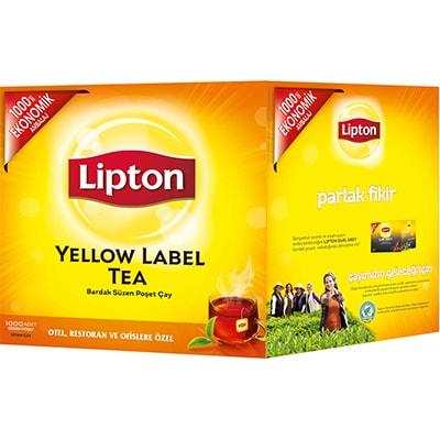 Lipton Yellow Label Bardak Poşet Çay 1000'li -