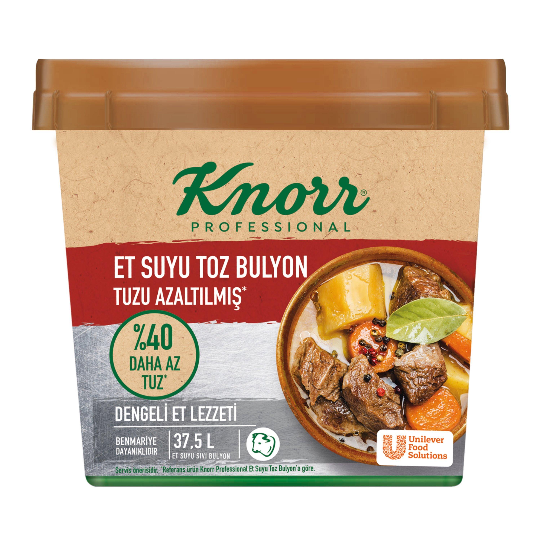Knorr Tuzu Azaltılmış Et Bulyon 750 g -