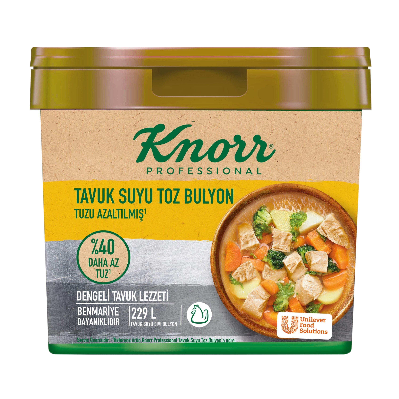 Knorr Tuzu Azaltılmış Tavuk Bulyon 4 kg -