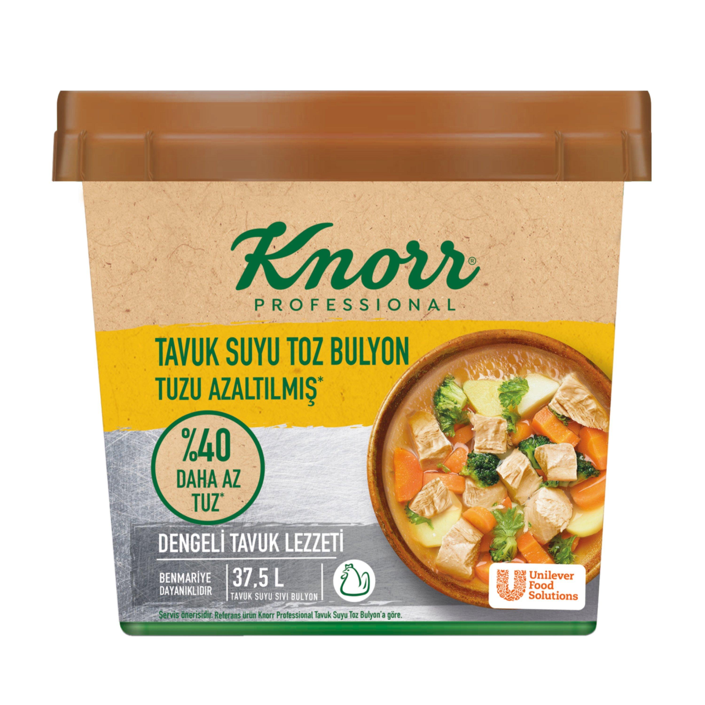 Knorr Tuzu Azaltılmış Tavuk Bulyon 750 g -