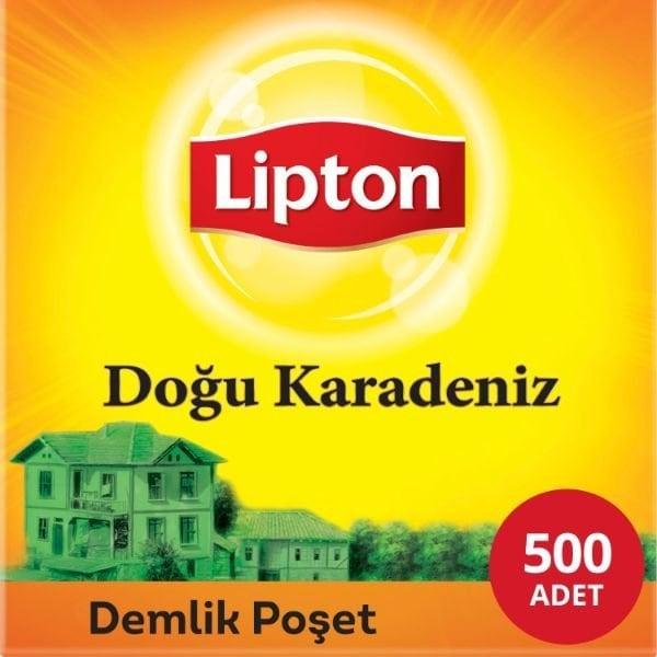Lipton Doğu Karadeniz Demlik Poşet Çay 500'lü -