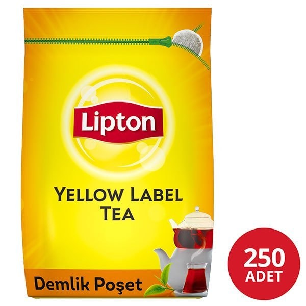 Lipton Yellow Label Demlik Poşet Çay 250'li -
