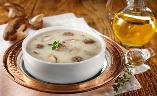 Köfteli Mantar Çorbası