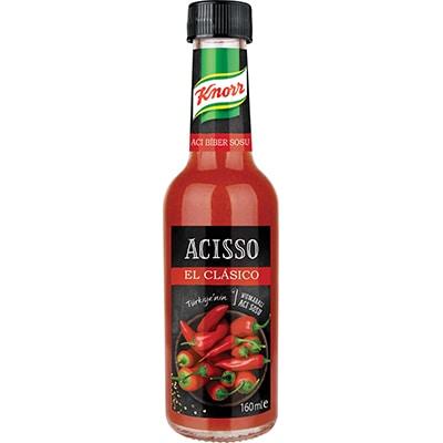 Knorr Acısso 160 ml - Knorr Acısso, acı seven müşterilerinizin yıllardır en sevdiği acı sos.