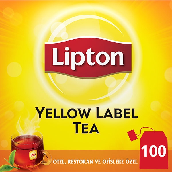Lipton Yellow Label Bardak Poşet Çay 100'lü